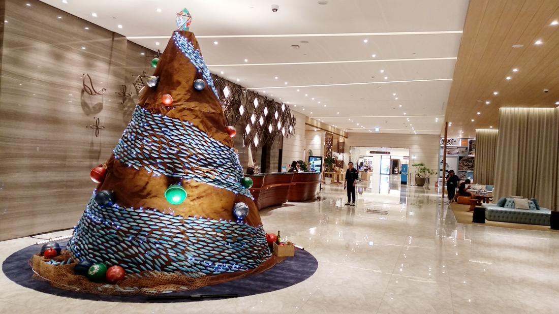 2018澎澄飯店聖誕樹