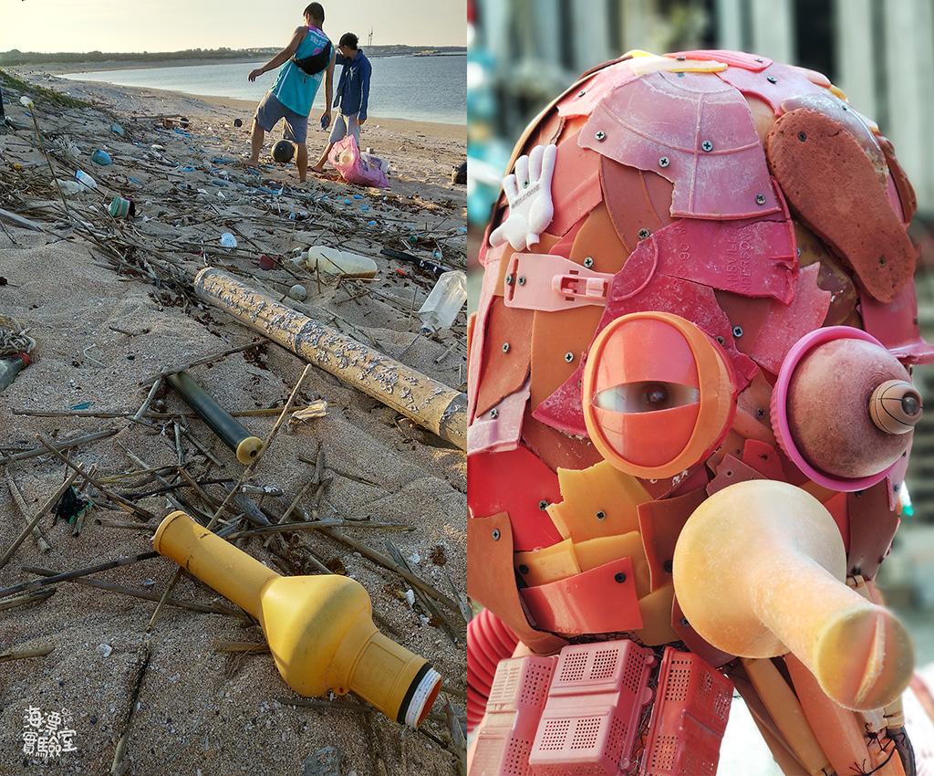 章魚頭:塑膠碎片 目前大海裡最多的垃圾