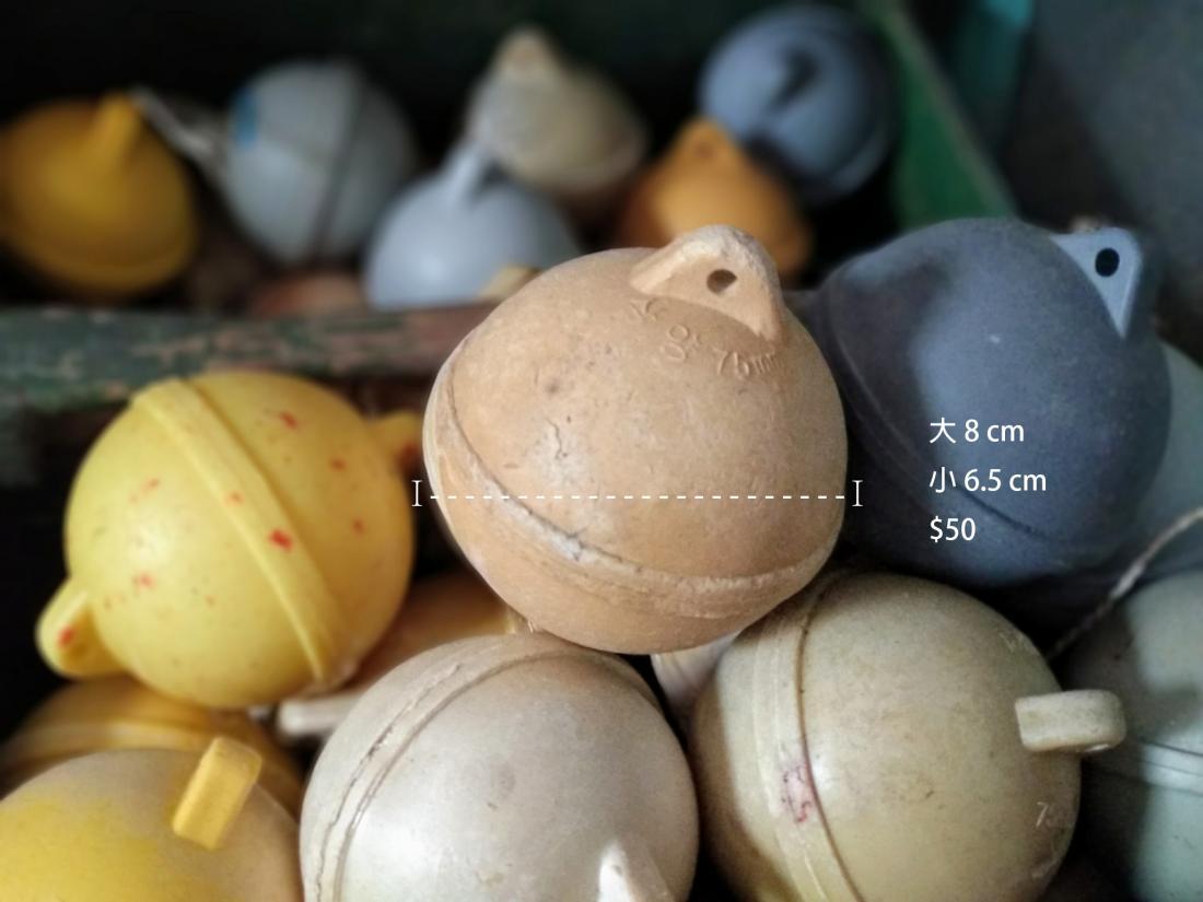 尺寸:直徑8cm和6.5cm。價格:NT