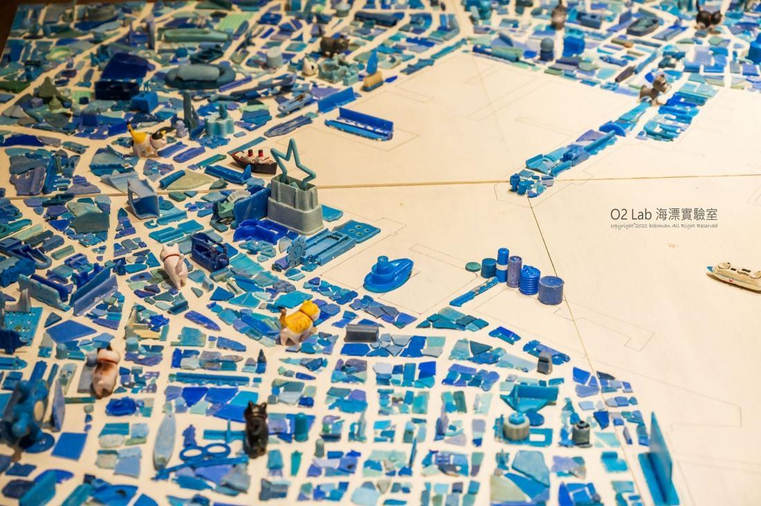 馬公港區城市圖,你找到重要地標了嗎?